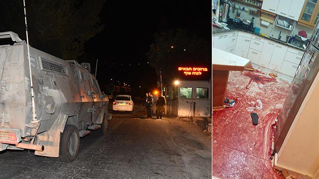 Vacsora közben késelt meg egy izraeli családot a palesztin terrorista