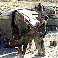 Bekaot roadblock (archives) Photo: IDF Spokesperson's Unit