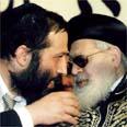 הרב עובדיה יוסף, עם אריה דרעי, 1996