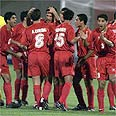 Iranian football team (archives) Photo: AP