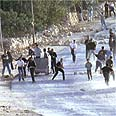 Rioting in the West Bank (Archives) Photo: Hagai Offan