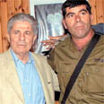 General Ashkenazi with South Lebanon Army's General Antoine Lahad 1999