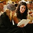 Madonna in prayer Photo: David Rawlings (Kabbalah Center Israel)