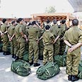 IDF recruits enlisting Photo: Shaul Golan