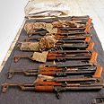 Kalashnikov rifles (archives) Photo: IDF Spokesperson&#39;s Office
