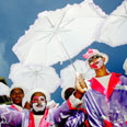 Festival in Cape Town: South Africa is a lively country these days Photo: Reuters