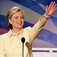Showing support: Senator Hillary Clinton Photo: Reuters
