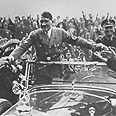Hitler in one of his cars