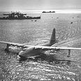 """""""H-4 Hercules"""", מטוס העץ הגדול ביותר שנבנה אי פעם."""