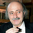 Walid Jumblatt. 'Iranians trying to destabilize area' Photo: AP