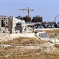 Construction in Maale Adumim Photo: Reuters