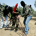 Firing mortars in Gaza (archive) Photo: AP