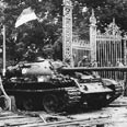 American tank in Saigon Photo: AFP