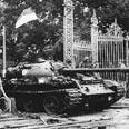 American tank in Saigon Photo: AFP