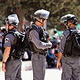 Police officers facing a tough task Photo: Reuters