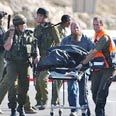 Shooting attack at Beit Haggai Photo: AP