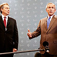 Blair (L) and Bush Photo: Reuters