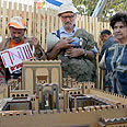 Hoping to rebuild Temple Photo: Haim Zach