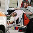 The injured arrive at a Jerusalem hospital Photo: Haim Tzach