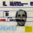 Image of Nuriel's driving license distributed by Hamas