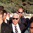 Sharon at  Temple Mount Photo: AFP