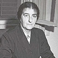 Making history. Golda Meir Photo: GPO