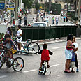 Most calls on Yom Kippur relate to children being injured while riding bicycles Photo: API