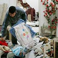 Gaza home following IDF strike Photo: Reuters
