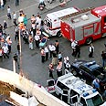 Scene of murder: Hadera terror attack Nadav Hershkovitz