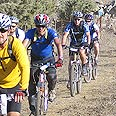 Beit Halochem bicycle club in action