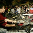 Targeted killing in Gaza on Wednesday Photo: Reuters