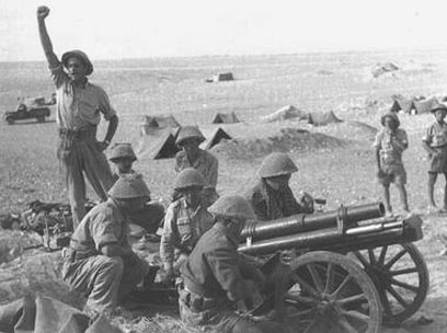 IDF Negev Battalion soldiers during the War of Independence (Photo: Hugo Mendelson, GPO)