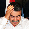 'We must move forward.' Peretz during Labor convention Photo: Tomeriko