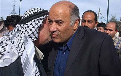 Jibril Rajoub said on Palestinian TV, 'Brothers, am I preventing you from slaughtering a settlement?' (Archive photo: AP)