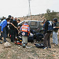 Shooting attack in West Bank (Archive) Photo: David Wilder