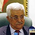 'Halt agression.' Abbas Photo: AP