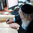 Sanhedrin's president Rabbi Adin Even-Yisrael (Shteinzaltz), Photo: Rabbi Haim Richman
