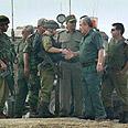 Israeli, Palestinian officers on joint patrol Photo: AP