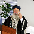 Rabbi Amar Photo: Yitzhak Elharar