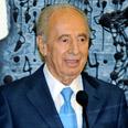 President Shimon Peres Moshe Milner, GPO