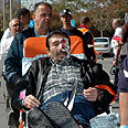 Scene of Dimona attack (archives) Photo: Herzl Yosef