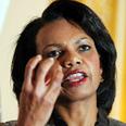 Condoleezza Rice Photo: AFP