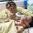 Osher Tuito. Lost his leg in Qassam attack on Sderot Photo: Yariv Katz