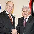 Olmert, Abbas meet again Photo: Moshe Milner, GPO