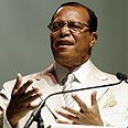 Farrakhan. 'Hope of the entire world' Photo: AP