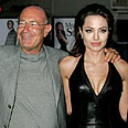 Milchan with Angelina Jolie Photo: Reuters