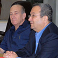 Olmert and Barak. Operation to continue Photo: Moshe Millner, GPO