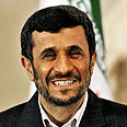 Ahmadinejad. Keeping an eye on Israel Photo: AP