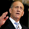 Olmert to be questioned Friday Photo: AFP