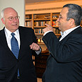 Cheney and Barak Photo: Asaf Ravitz
